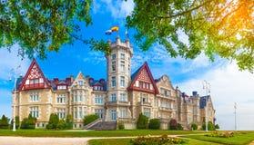 Asturias magdalena royal  palace Royalty Free Stock Photo