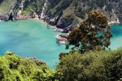 asturias naturligt paradis arkivbild