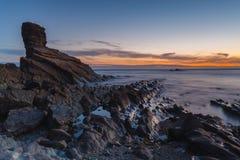 Asturias soluppgång Royaltyfri Fotografi