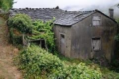 Asturias. Spain. Traditional  house GRANDAS DE SALIME Asturias  SPAIN Stock Photos