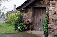 Asturias. Spain. Traditional  house GRANDAS DE SALIME Asturias  SPAIN Royalty Free Stock Photo