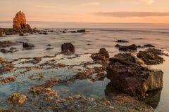 Asturias sunrise Royalty Free Stock Photo