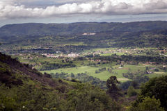 Asturien-Landschaft Stockfotografie
