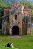 Asturiervor Romanesque Stockfoto