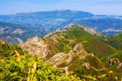 Asturische bergen Stock Foto's