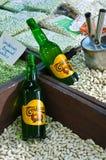 Asturischer Apfelwein Stockfoto