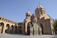 Astvatsatsin church. An ancient church in Yerevan Royalty Free Stock Photography