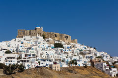 Astypalea village Royalty Free Stock Image