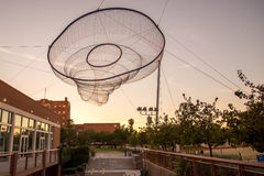 ASU net sculpture in Phoenix, AZ Royalty Free Stock Images