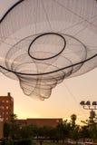 ASU net sculpture in Phoenix, AZ Stock Photos