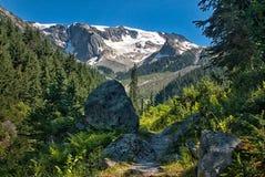 Asulkan Trail. Asulkan Tr. Glacier National Park British Columbia Stock Photography