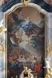 Asunción de la Virgen Maria Fotos de archivo