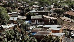 Asuncion City, la ciudad capital y más grande de Paraguay almacen de metraje de vídeo