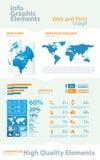 Asunto de la alta calidad infographic Imagen de archivo libre de regalías