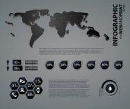 Asunto de la alta calidad infographic Foto de archivo