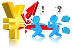 Asunto de las finanzas Foto de archivo libre de regalías