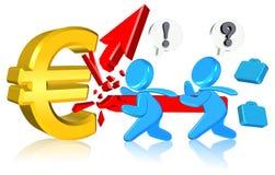 Asunto del dinero en circulación Imagen de archivo libre de regalías