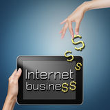 Asunto del Internet. Imagenes de archivo