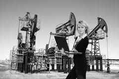 Asunto en industria de petróleo Foto de archivo