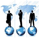 Asunto global stock de ilustración