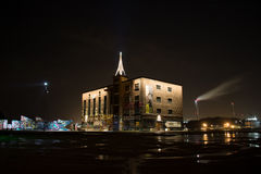Asunto - horizonte de la ciudad de las grapas Imagenes de archivo