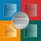 Asunto Infographics Foto de archivo