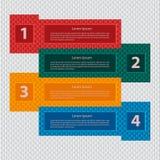 Asunto Infographics Fotografía de archivo