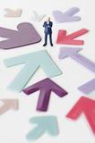 Asunto Leader Imagen de archivo libre de regalías