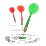 Asunto o estrategia de marketing Imagen de archivo libre de regalías
