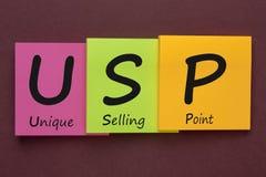 Asunto vendedor único de USP fotografía de archivo