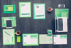 Asunto verde Imagen de archivo