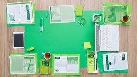 Asunto verde Imagen de archivo libre de regalías