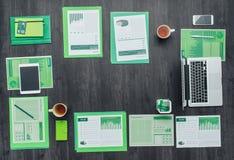 Asunto verde Imágenes de archivo libres de regalías