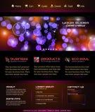 Asunto Webtemplate o gráfico del blog de Wordpress libre illustration