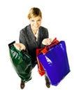 Asunto y compras Fotografía de archivo libre de regalías