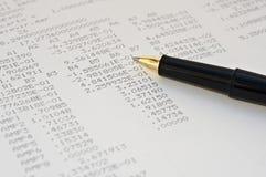 Asunto y finanzas Imágenes de archivo libres de regalías
