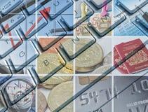 Asunto y finanzas stock de ilustración