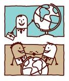 Asunto y mundo Foto de archivo libre de regalías