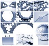 Asunto y trabajo en equipo Imagen de archivo libre de regalías