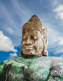 Asura statue on blue sky background Stock Photo