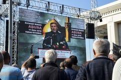 ASURE Mourning Ceremony Turkey Jafari Leader Selahattin Ozgunduz Royalty Free Stock Photo