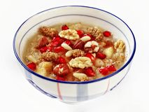 Asure pudding. Wheat dessert with dried nuts and fruits Stock Photo