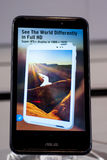 ASUS FONEPAD NOTE 6, MOBILE WORLD CONGRESS 2014 Royalty Free Stock Image