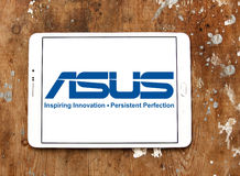 Asus logo Stock Photo