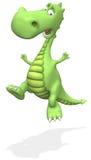 Asustar el dragón Fotos de archivo libres de regalías