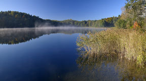 Asveja (Dubingiai) meer, Litouwen. Stock Afbeelding