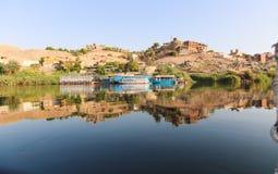 aswan Αίγυπτος στοκ εικόνες