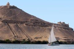 aswan εικονική παράσταση πόλης στοκ φωτογραφία με δικαίωμα ελεύθερης χρήσης