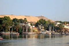 Aswan imagem de stock