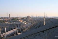 Aswan Dam 2 stock photo
